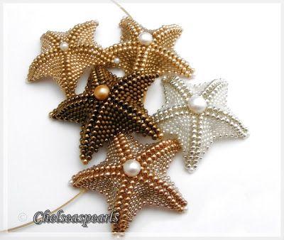 Chelseaspearls starfish necklace
