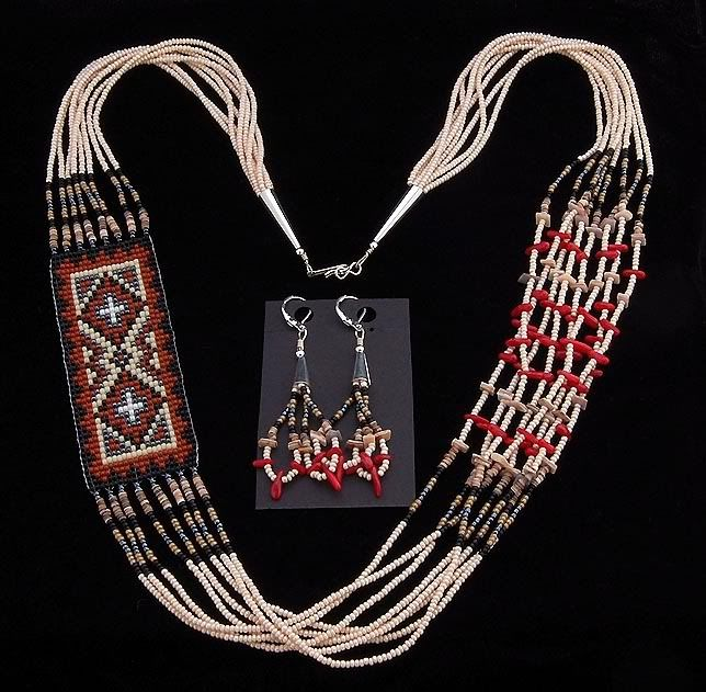 17 Best Images About Native American Beaded Necklaces On