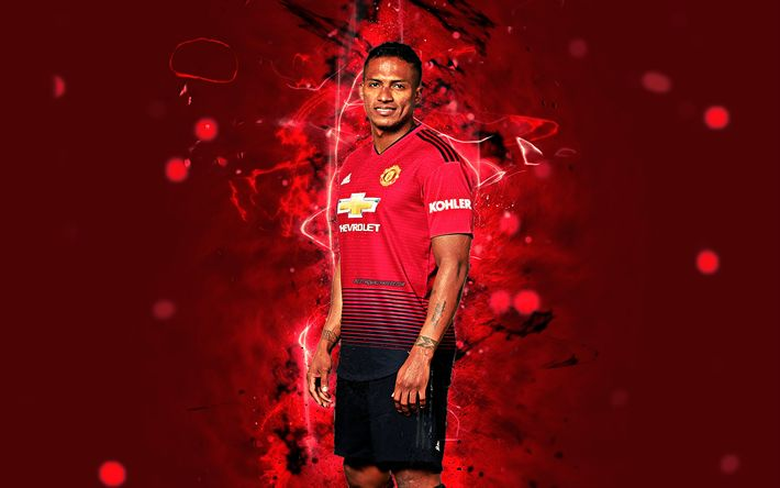 Download Wallpapers Antonio Valencia 4k Season 2018 2019