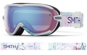 2016 New Smith Optics Virtue Wanderlust Women's Ski Goggle Blue Sensor Lens | eBay