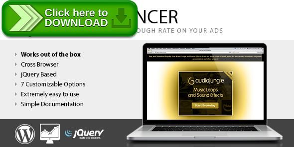 [ThemeForest]Free nulled download CTR Enhancer WP - Tool for advertising publishers from http://zippyfile.download/f.php?id=41452 Tags: ecommerce, ads, ads manager, adsense, advertising, banner, banner ads, banners, click, CTR, envato referral, money, rate, referral, through, wordpress advertising