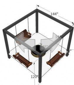 25 beste idee n over schommelbank op pinterest gazebo blikken dakbedekking en yard swing - Pergola dakbedekking ...