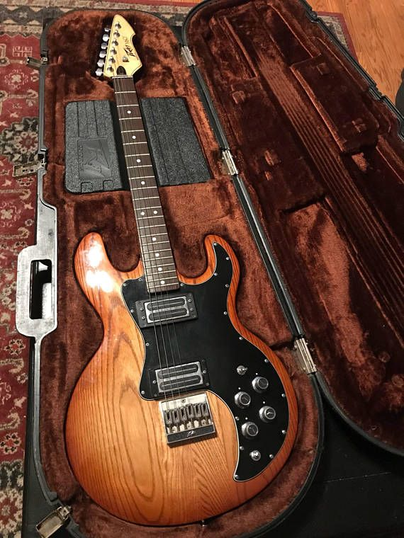 1981 Peavey T-60 Electric Guitar with Peavey Hard Case