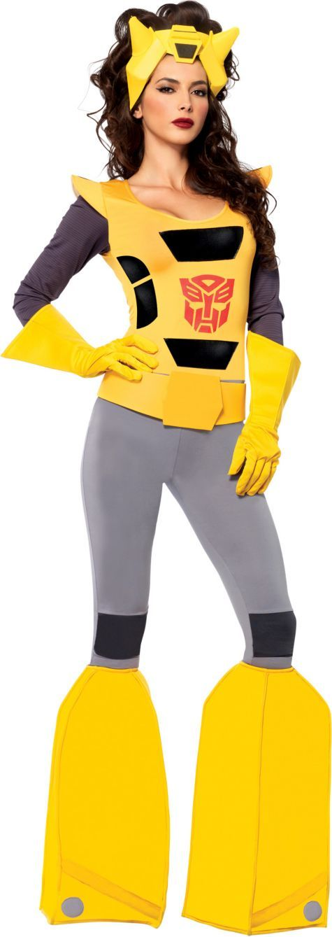 Adult Sassy Bumblebee Costume - Transformers - Party City