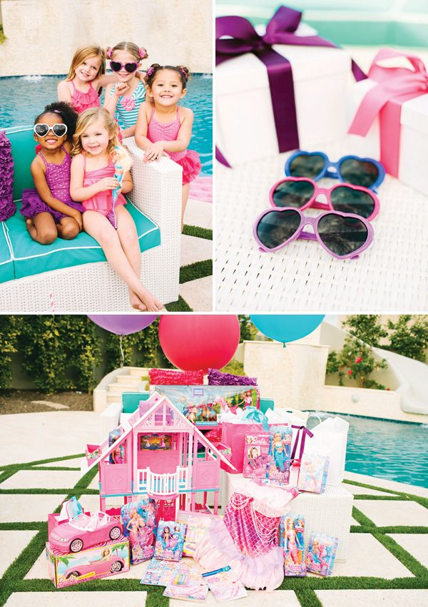 Pearl Princess Barbie Pool Party {Movie Inspired}