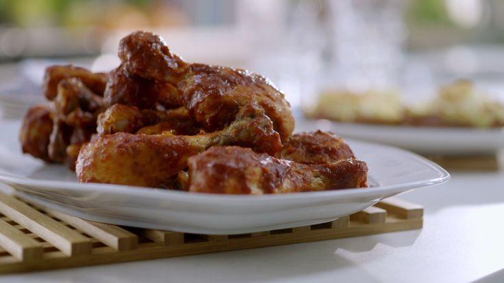 Pilons de poulet BBQ