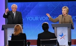 US presidential election 2016: the state of the Democratic race as the year starts | US news | The Guardian