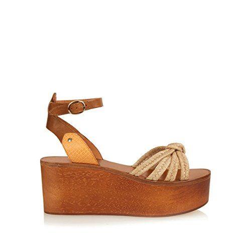 (イザベルマラン) Isabel Marant レディース シューズ・靴 サンダル Zia wooden flatform sandals 並行輸入品  新品【取り寄せ商品のため、お届けまでに2週間前後かかります。】 表示サイズ表はすべて【参考サイズ】です。ご不明点はお問合せ下さい。 カラー:Dark-brown