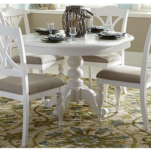 Liberty Furniture Low Country Sand Dining Bench At Hayneedle: 25+ Best Ideas About Round Pedestal Dining Table On