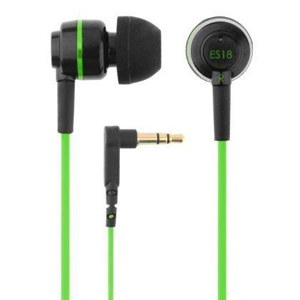 Słuchawki dokanałowe SoundMAGIC ES18 black-green | Słuchawki \ Douszne PREZENTY \ Dla Niej | Sprzet-Dyskotekowy.pl - największy i najtańszy sklep internetowy z oświetleniem i nagłośnieniem w Polsce