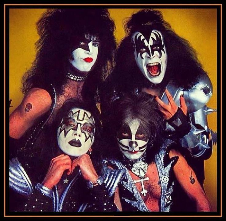 Kiss Tommy Thayer Makeup: 2828 Best KISS Images On Pinterest