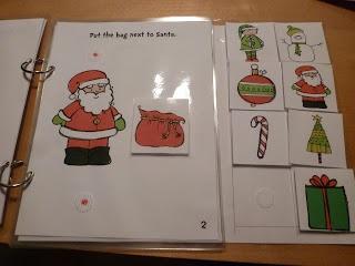 Classroom Freebies Too: Christmas interactive book