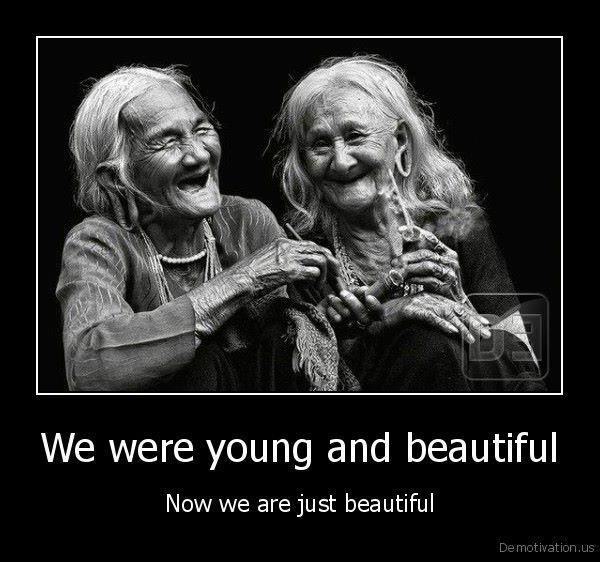 Love this!.....This will be me and Venesa.....LOL...forever beautiful together.