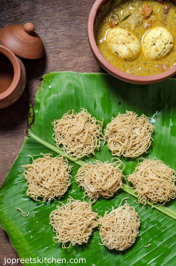 Thinai Maavu Idiyappam / Foxtail Millet String Hoppers Recipe