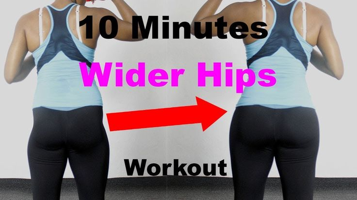 5 min wider hips workout to grow hips fast best hip