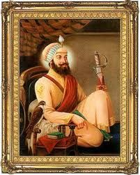 Guru Har Gobind Ji was sixth Guru of Sikh Religion. He raised an army and wore two swords symbolizing secular and spiritual authority. The Mughal emperor Jahangir imprisoned the guru who negotiated release for whomever could hold on to his robe.  PARANTS'S NAME:Guru Arjan Dev Ji, Mata Ganga Ji PLACE  DOB:Guru Ki Wadali (AmritsarJune  19, 1595 GURSHIP YEARS:38 Years CONTEMPORARY EMPEROR:Jahangir  Shah Jahan (Moghal Emperor) DEATH PLACE  YEAR/AGE:Kiratpur March 3, 1644/49 Years.
