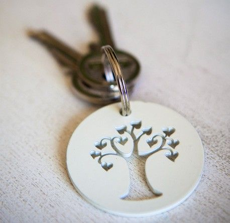Love Tree Keyring