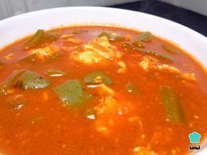 Receta de Huevos ahogados con nopales #RecetasGratis #RecetasMexicanas #ComidaMexicana #CocinaMexicana #Huevos #Nopales