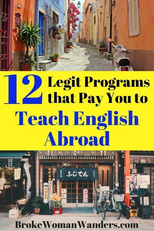 12 Legitimate Programs That Pay You To Teach English Abroad