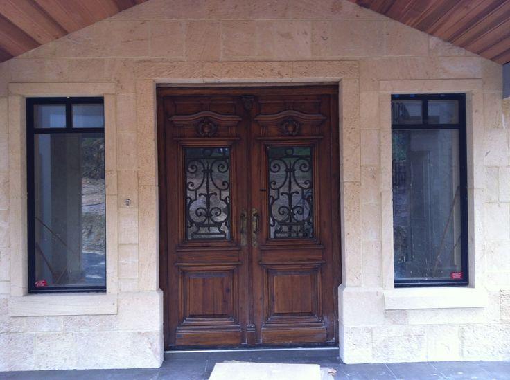 Western Australian Biscuit Limestone. Front facade.