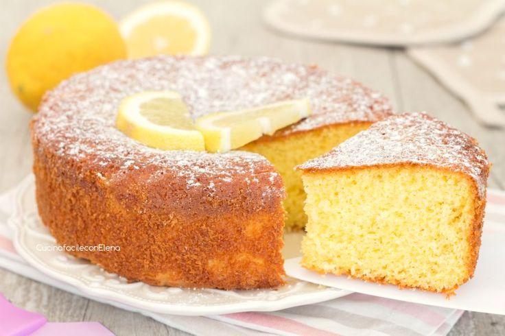 torta senza bilancia al limone