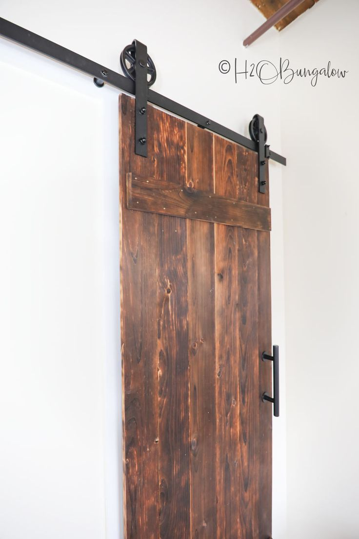 Building A Barn Door Beginners Guide With Free Plans Building A Barn Door Diy Sliding Barn Door Woodworking Projects Diy