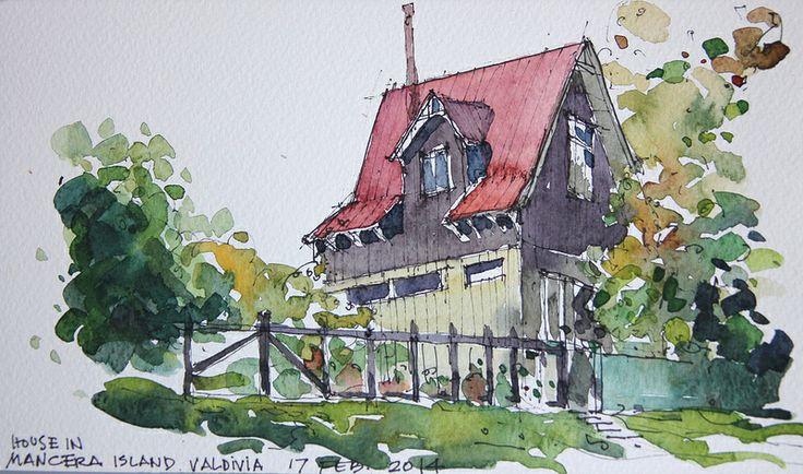 House in Mancera Island
