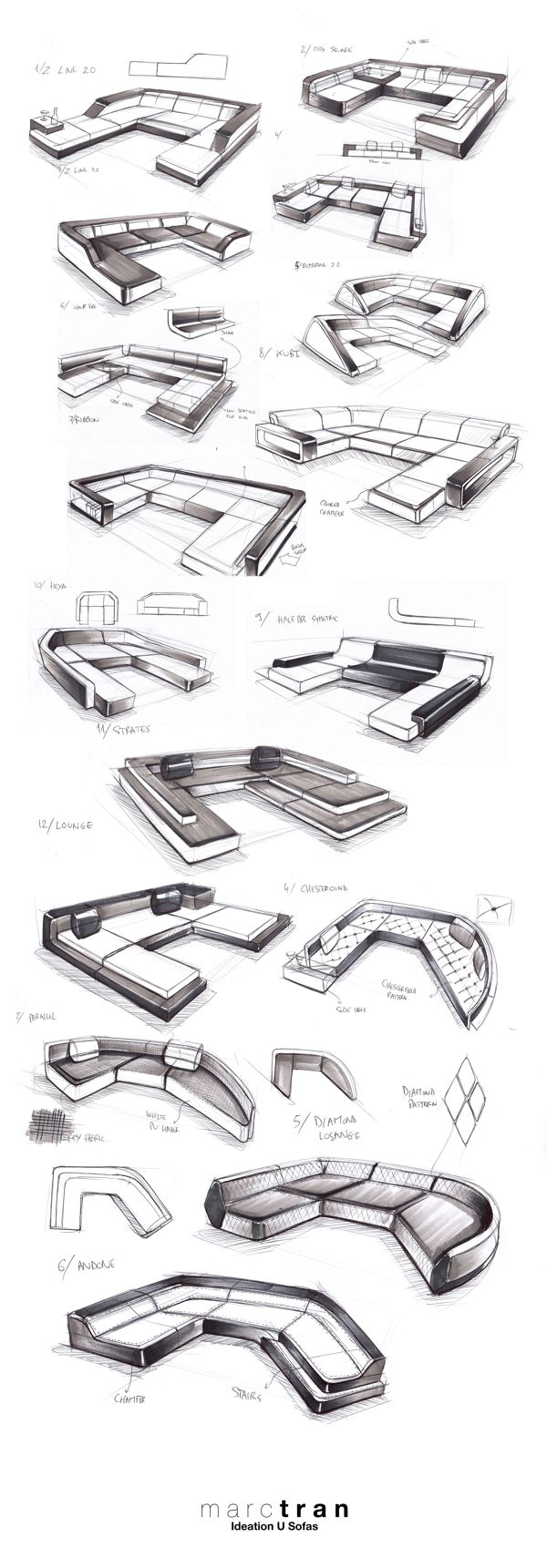 FURNITURE DESIGN - FREELANCE FOR IQLABELS 2013 by Marc TRAN, via Behance