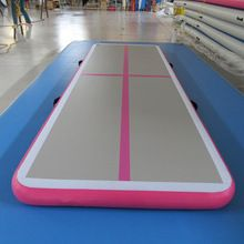 [Body Building] 3m 5m pink factory price home mini cheap gym equipment mattress airtrack floor gymnastics tumbling mat inflatable air track