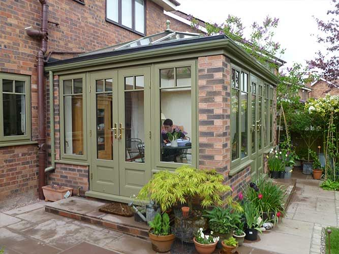 Image result for timber orangery