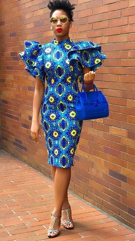 Stylish Ankara Fashion Designs – #africaine #Ankar…