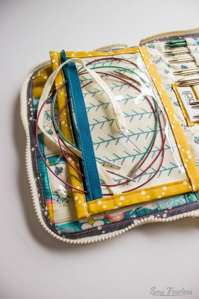 Knitting Needle Case Leather : Ideas about interchangeable knitting needles on