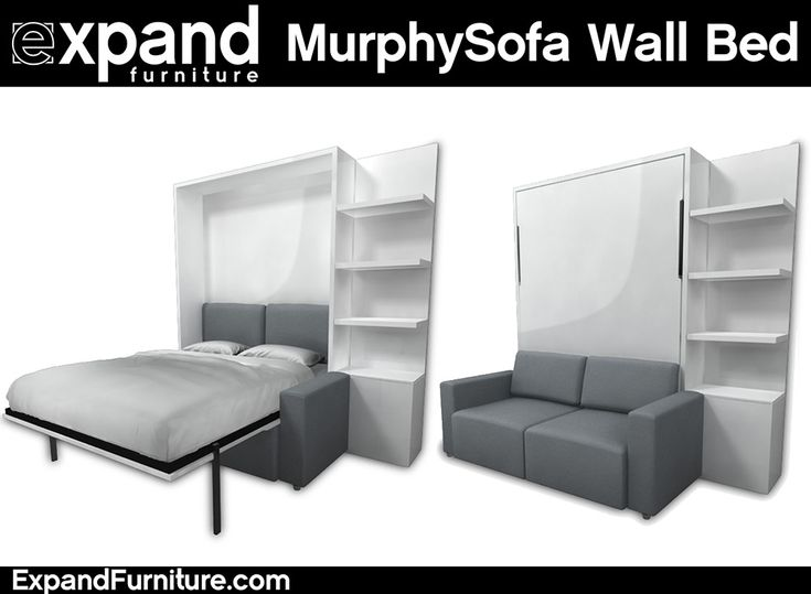 Murphysofa Clean Wall Bed Convert Your Home Area To Be More Space Friendly As The