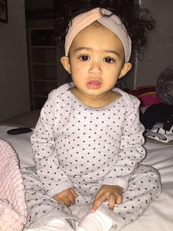 chris brown daughter - 600×800