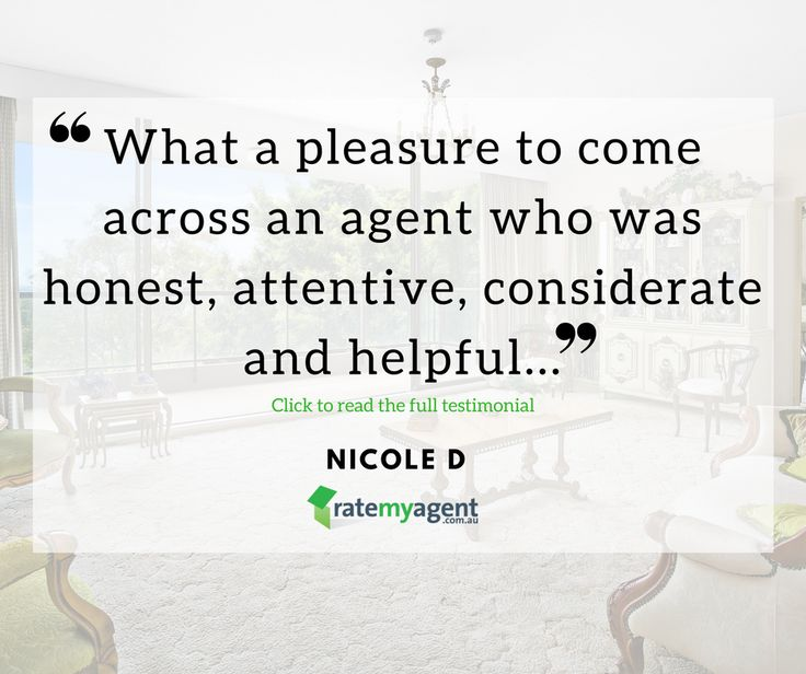 """What a pleasure to come across an agent who was honest attentive considerate and helpful..."" #review #property http://ift.tt/2o605qP"
