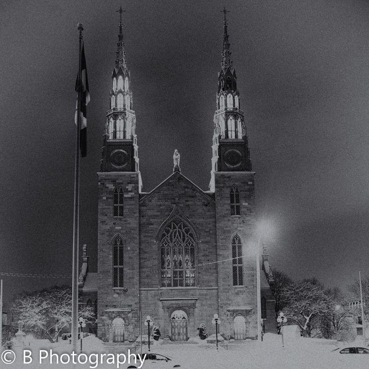 Ottawa, Ontario - Notre Dame Cathedral Basilica of Ottawa