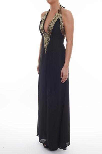 ISALIE KJOLE Embellished long dress. Nice choice for promdress