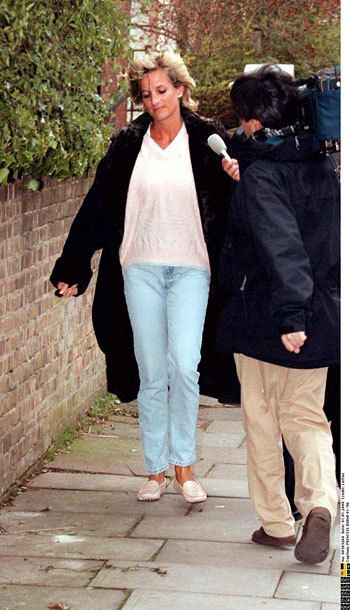 Princess Diana always being hunted by the camera