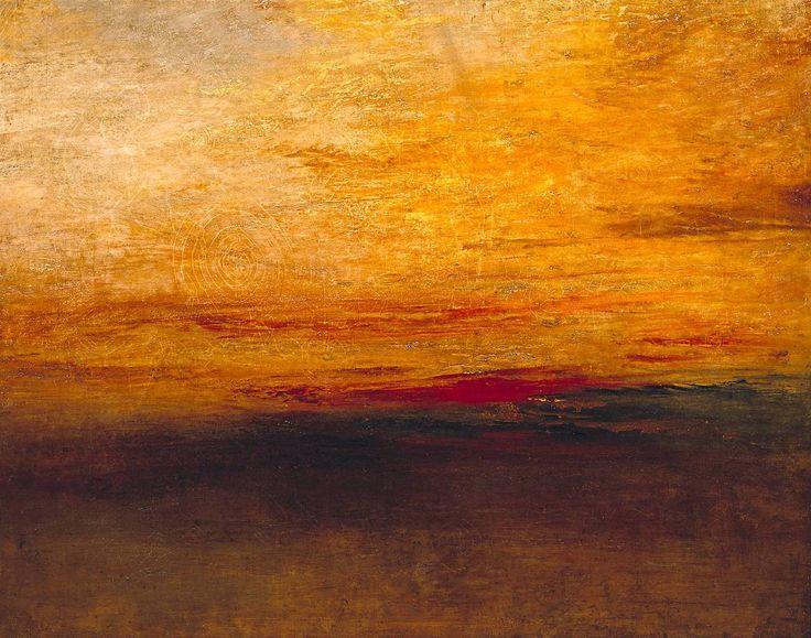 Joseph Mallord William Turner, Sunset c.1830-5