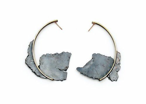 Seth Papac. Again, another pair of earrings that would be an added bonus if made for larger gauged piercings. These are fabulous!