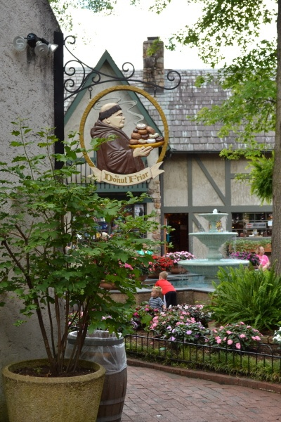 The Donut Friar in The Village in Downtown Gatlinburg. #Gatlinburg #Tennessee #dining
