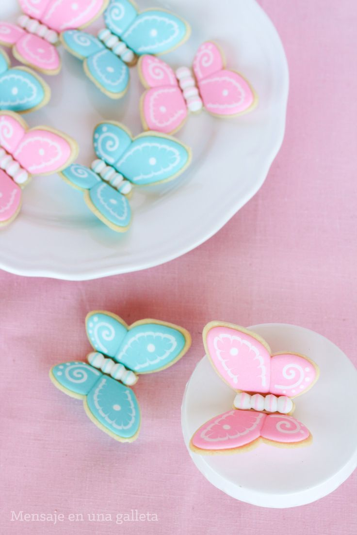 Butterflies (3D cookies)