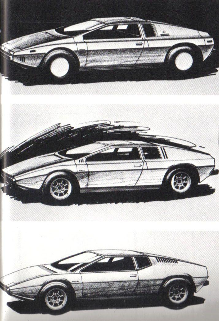 Lotus Esprit / M70 (1972) Giorgetto Giugiaro