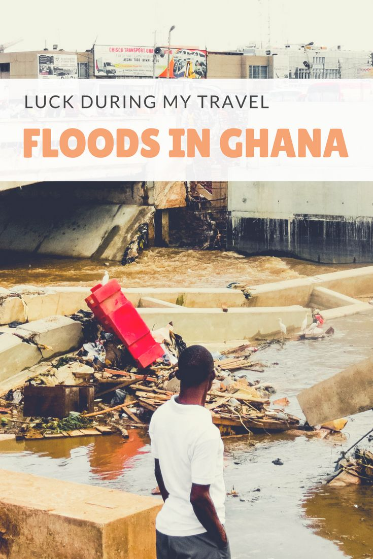 Normally you read the happy travel stories. However you can also have some bad travel experiences. This is all about what can happen to a traveler when they are in a country and there are floods. Ghana was a mess during this period, and here you read my personal experiences.