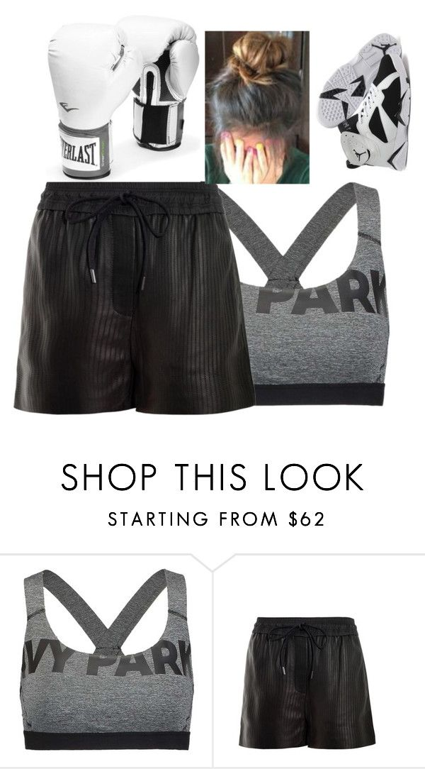 """Boxing , Buh Swagged Out"" by qeens ❤ liked on Polyvore featuring Ivy Park, Alexander Wang and Everlast"