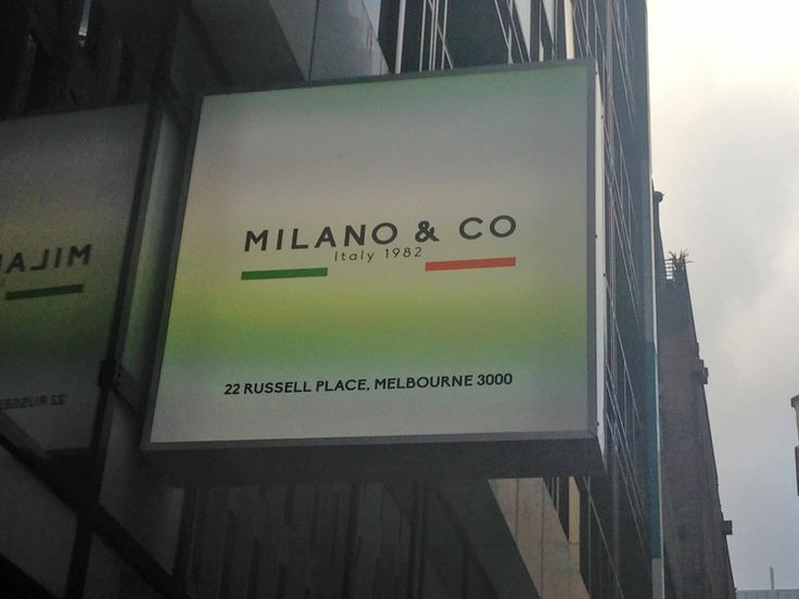 Milano & Co on Russell Place, Melbourne