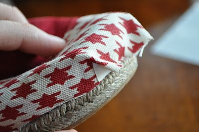 Love this: how to repair your TOMS.