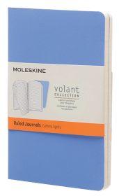 Lot de 2 carnets Moleskine Bleu par Office Depot 9x14