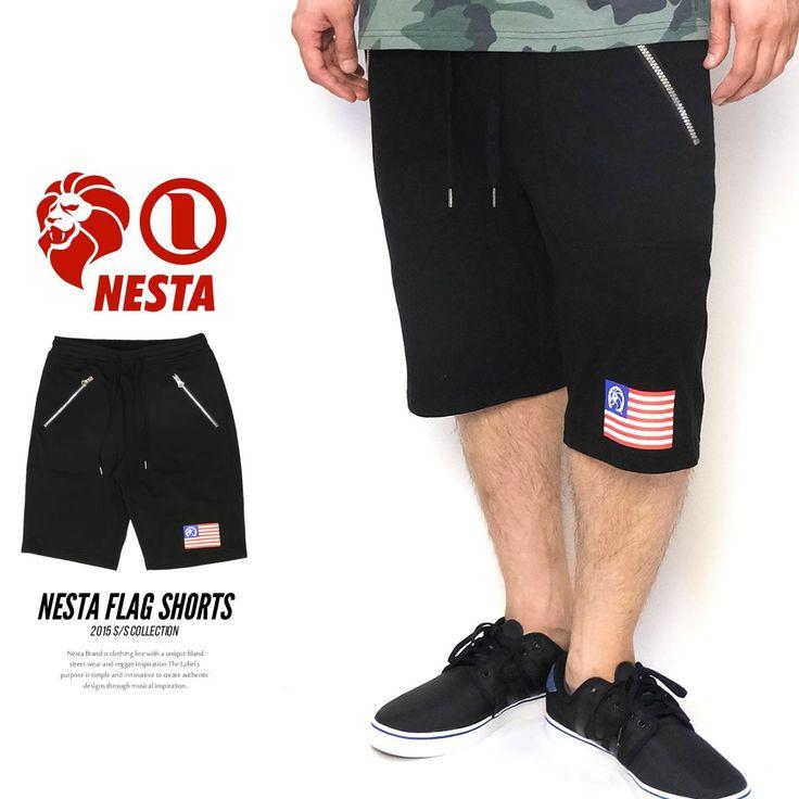 ネスタブランド NESTA BRAND ハーフパンツ メンズ ショート スウ :5v3215:DEEP B系・ストリートファッション - 通販 - Yahoo!ショッピング