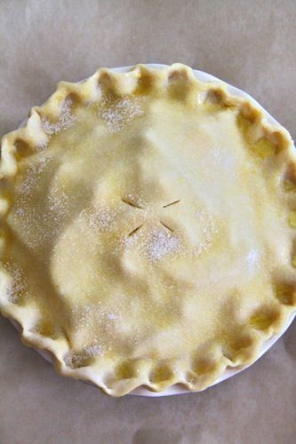 all-butter pie crust, step-by-step instructions